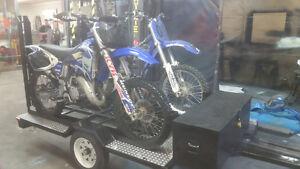custom dirt bike trailer