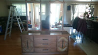 Large Two Mirror Dresser