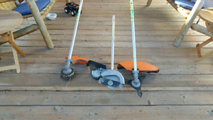 Attachments for Stihl 3 pcs for a Kombi system