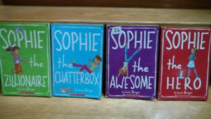 4 Sophie series chapter books by Lara Bergen