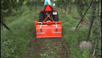 Rototiller Service for hire