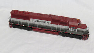 HO scale train Electro-Motive Railroad 8301 Proto 2000