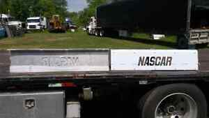 International 9900 stainless nascar step covers