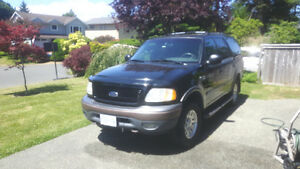 2000 Ford Expedition Black SUV, Crossover