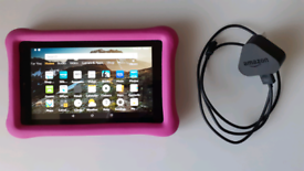 """Kids Edition Amazon Fire 7"""" screen tablet SD (2019), 16 GB"""