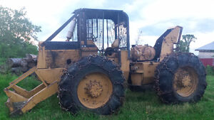 International S-8 Skidder