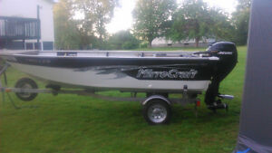 2013 Mirrocraft Troller With 30hp  Mercury 4 Stroke