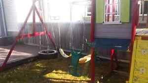 Kids jungle gym + equipment 80$ or best offer take what you want