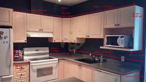 armoires cuisine et comptoir