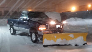 snow clearing and salting