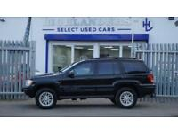 2002 02 JEEP GRAND CHEROKEE 2.7 LIMITED CRD 5D AUTO 161 BHP DIESEL