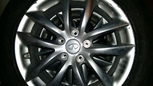 Infiniti winter tires with rims