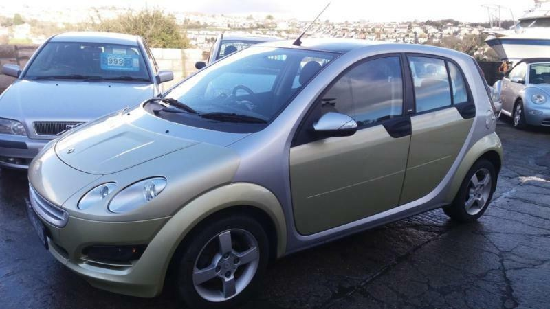 2005 Smart Forfour 15 Cdi 95bhp Semi Automatic Diesel In