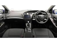 2017 Honda Civic 1.8 i-VTEC SE Plus Petrol blue Manual