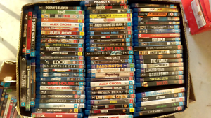 Bulk Blu-ray collection over 80. Must go! West End Brisbane South West Preview