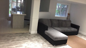Newly renovated  Basement for rent in Maple