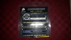 4GB of Corsair Dominator DDR2-1066MHz Ram