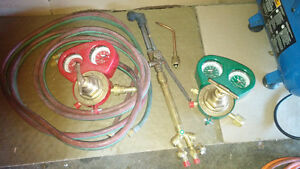 Ensemble Chalumeau oxycoupage/torches/welding torches