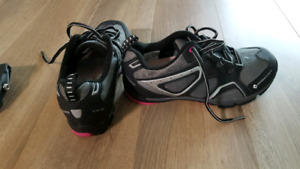 Shimano mountain or commuter bike shoes and pedals