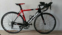 CERVELO S2, 100% carbon, TT / Triathlon / aero road bike