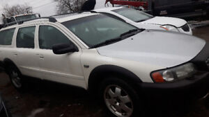 2001 to 2010 Volvo xc70, s60, s40, v50,xc90,v70 parts for sale