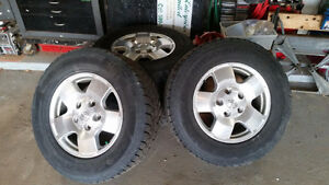Tundra Winter tires(like new)