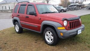 2006 Jeep Liberty SUV, clean Safety & etested