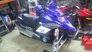 2008 Yamaha Nytro 4 stroke, mint condition, with 2017 trail pass