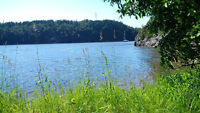 Very Private Lot with Beach on Highland Road, Saint John