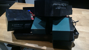 EBIKE BATTERIES AND CHARGER