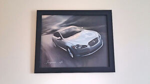 Jaguar car painting