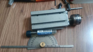 Taig mini lathe with motor and extras