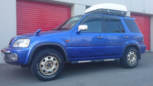 1999 Honda Crv JDM import all wheel drive 5 speed standard.