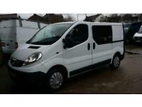 fec2cf8480 2012   12 PLATE Vauxhall Vivaro 2.0 CDTi 2700 CREW VAN 5 SEATS NO VAT