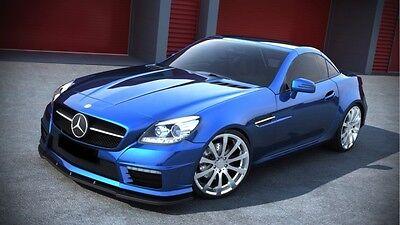 Spoilerlippe Frontspoiler Spoiler Diffusor für Mercedes SLK R172 AMG ab Bj. 2011