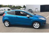 2016 Ford Fiesta 1.25 82 Zetec Blue 3dr Manual Petrol Hatchback