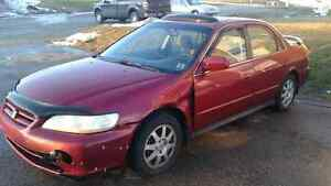 2002 parts honda accord