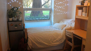 Subletting a Single Room in UBC Residence