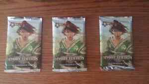 3 packs of unopened Legend of the Five Rings Card Game (Ivory Ed