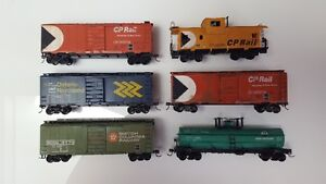 HO Scale - Model Trains - Various Rolling Stock