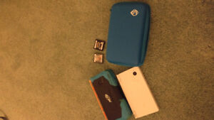 DSI with a case and 2 games (pokemon black and rune factory 3)