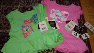 New -BABY clothing -pants, bodysuits, dresses, tanks.. with tags