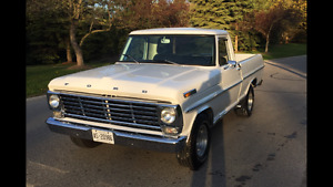 SALE PENDING 1967 Ford F100 Short Box