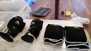 Ankle support and knee guards - active ankle