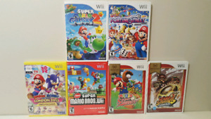 Quality Nintendo Wii Games ($25 each)