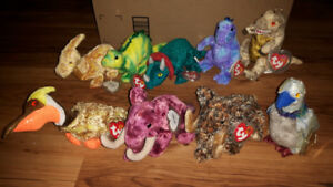Ty Beanie Babies Collectible Bears and Animals