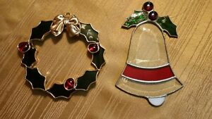 Pretty Christmas Stained Glass Decorations