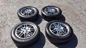 "Michelin tires on 15"" alloy rims"