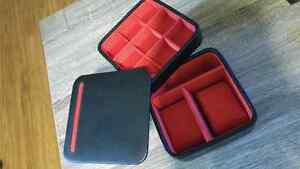 Dulwich Designs genuine leather jewellery/cufflink box