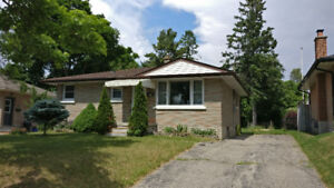 Detached Bungalow for Rent - Kitchener, ON
